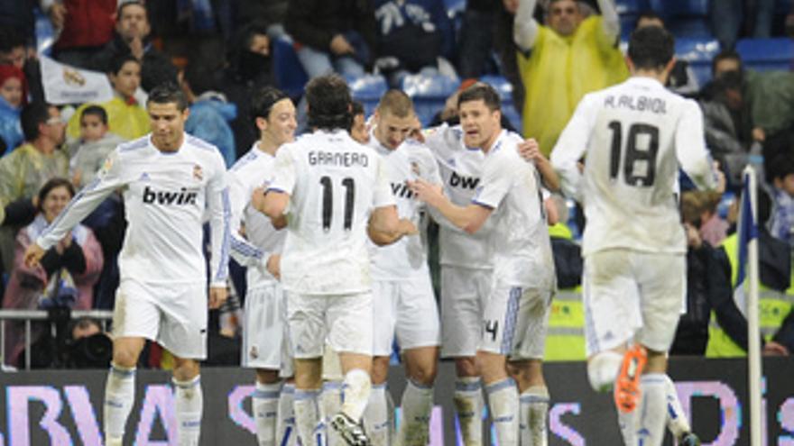 El Real Madrid vapuleó al Levante