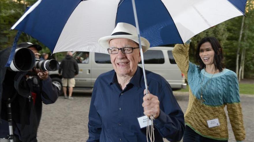 Rupert Murdoch invitó a cenar al alcalde de Londres, revela un dominical