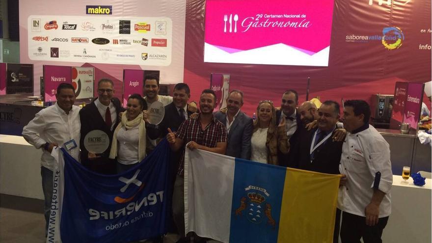 Representantes de las Islas en el campeonato celebrado en Valladolid.