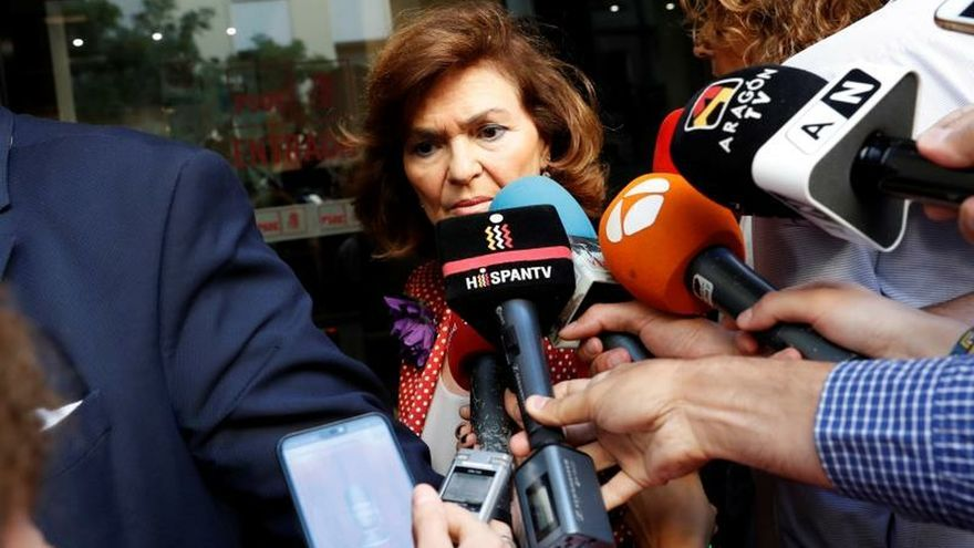 """Calvo exige a Podemos que """"abra la investidura al único presidente posible"""""""