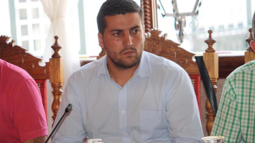 Raico Arrocha, concejal de Educación del Ayuntamiento de Santa Cruz de La Palma.