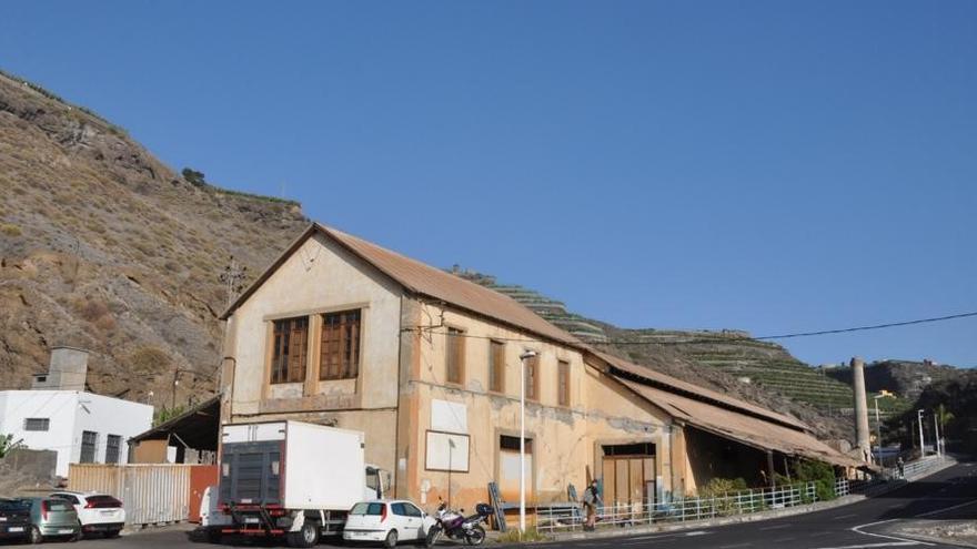 Antiguo almacén de Yanes , en la Villa y Puerto de Tazacorte,