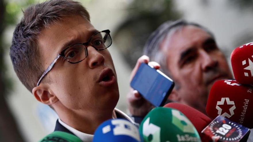 Errejón tiene decidido ser candidato al 10N si Más Madrid le ratifica