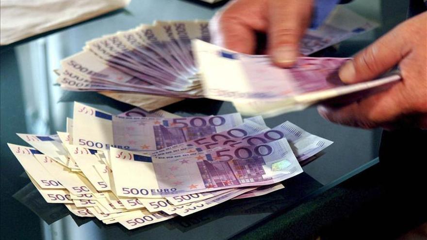 El número de billetes de 500 euros en circulación cae un 24 por ciento desde 2007