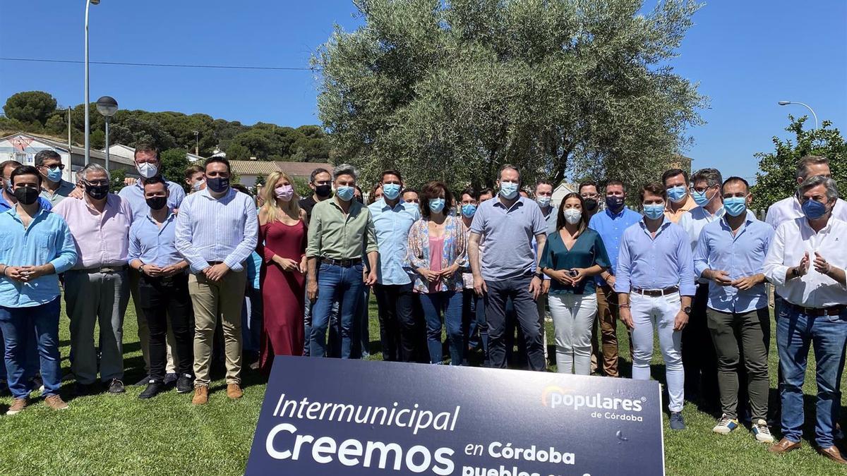 Imagen de la Intermunicipal del PP de Córdoba, celebrada este sábado en Obejo.