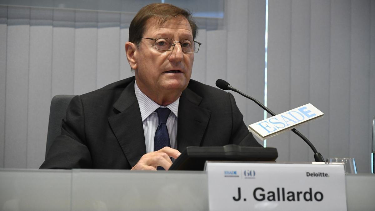 Jorge Gallardo, presidente de Almirall, en una imagen de archivo.