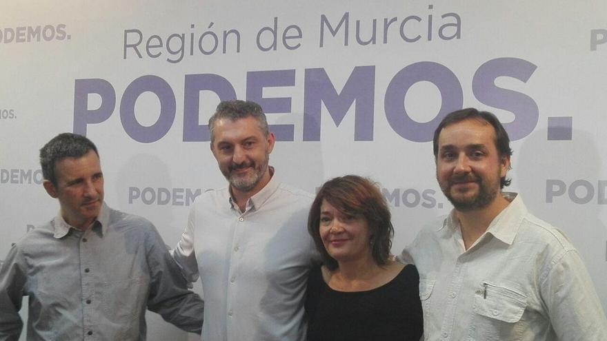 """Urralburu se consolida como líder de Podemos en Murcia y destaca la """"unidad e integración"""" en nuevo mandato"""
