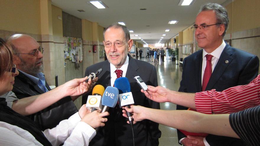 """Javier Solana espera que la crisis dure """"lo menos posible"""" y aboga por """"generar crecimiento de la economía española"""""""