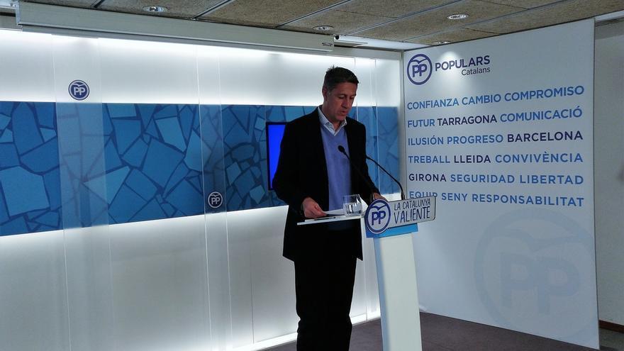 Albiol dice que el independentismo ha convertido a Cataluña en una disparatada serie de televisión
