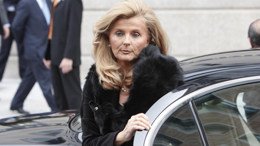 Isabel Tocino, en noviembre de 2008.