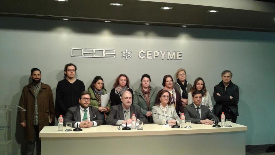 Comparecencia de los representantes de la Plataforma de Centros de Formación de Cantabria