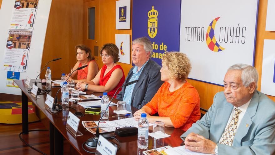Imagen de la presentación de la temporada de Zarzuela en el Teatro Cuyás.