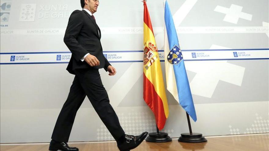 """Feijóo afirma """"hemos sido capaces de que España se salve a sí misma"""""""