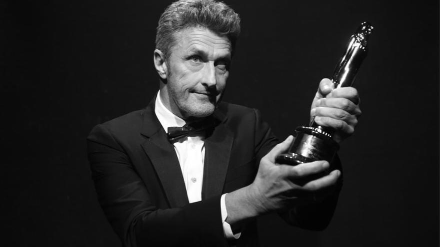 El director polaco Pawel Pawlikowski, en el photocall oficial de los Premios del Cine Europeo en Sevilla