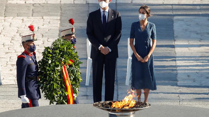 El rey pide unidad en un acto que combina esperanza y recuerdo a las víctimas