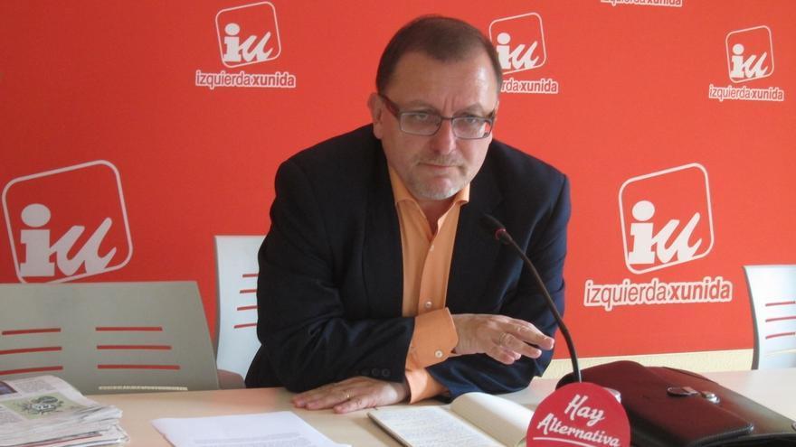 Jesús Iglesias (IU) dejará la primera línea de la política al terminar la legislatura