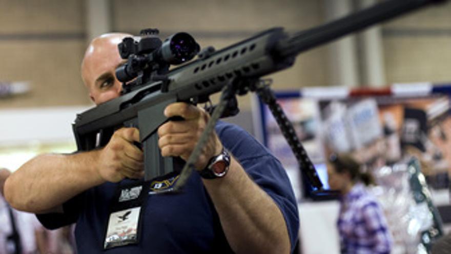EEUU, armas, rifle, ametrralladora