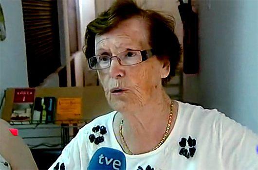 Cecilia Giménez, restauradora del 'Ecce Homo', en la Nochevieja de Neox