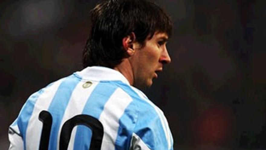 Leo Messi, estrella de Argentina. (BONGARTS)