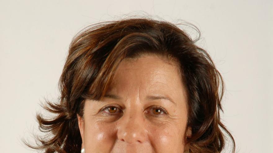 Ángela Delgado, presidenta de Asaga Canarias
