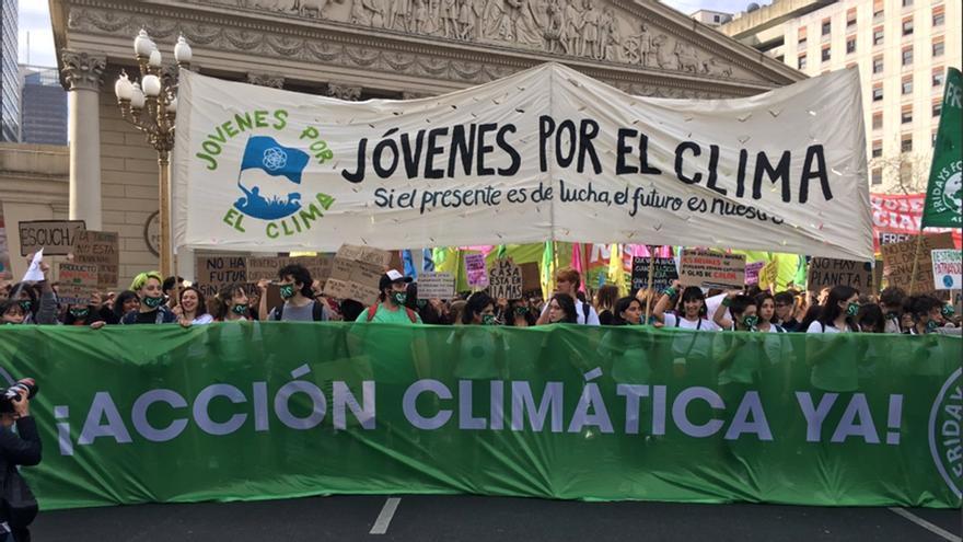 Jóvenes por el Clima, el reclamo por nuevas formas de convivencia y producción