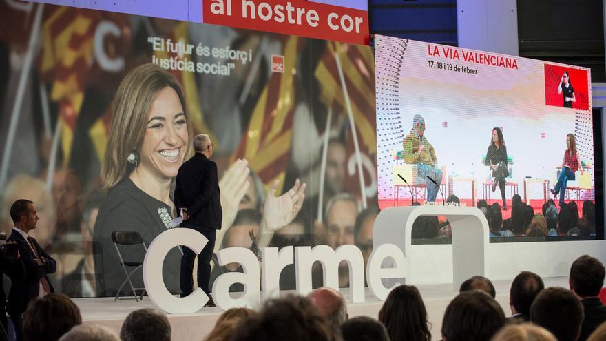 Homenaje a Carme Chacón en Barcelona