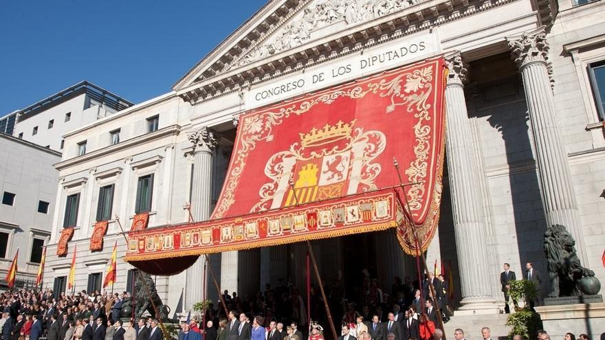 El Congreso acoge hoy la Apertura Solemne de la XII Legislatura con un discurso del Rey ante diputados y senadores