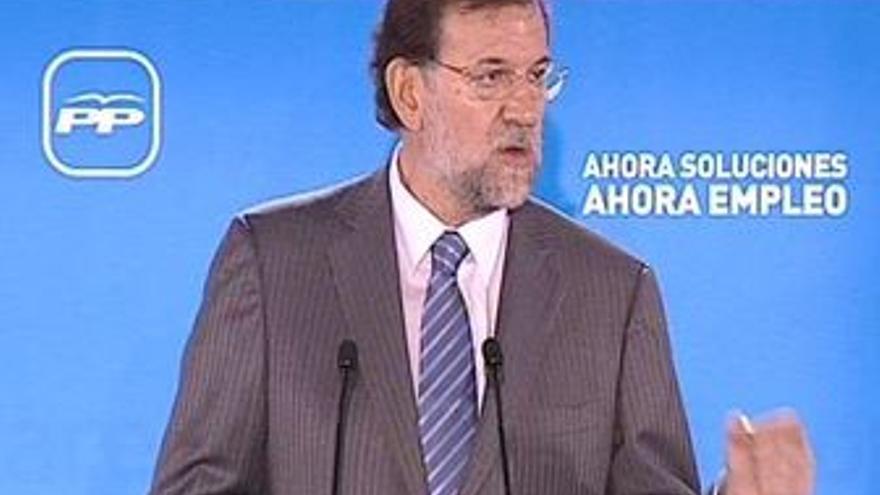 Mariano Rajoy. (ERUROPA PRESS)