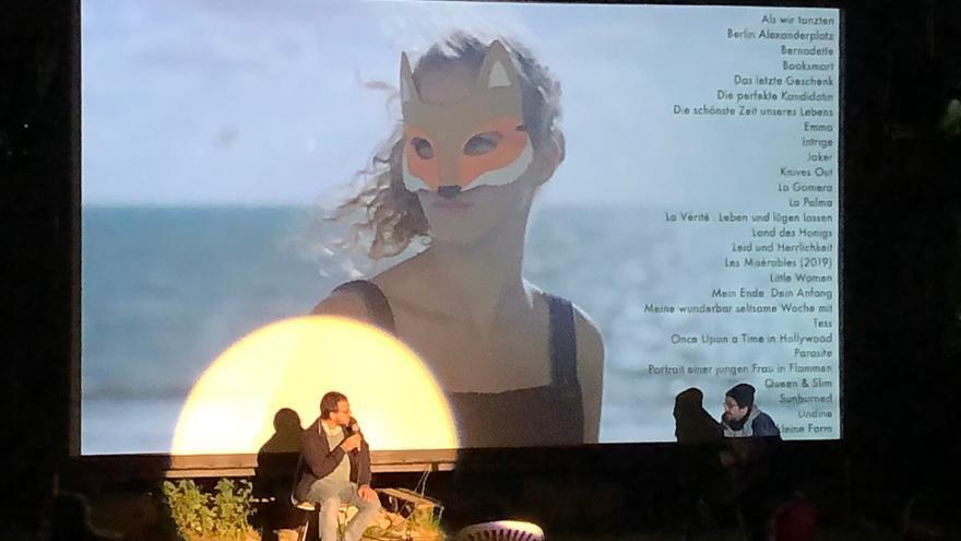 La película 'La Palma'  fue entrena en la Isla el pasado 14 de enero.