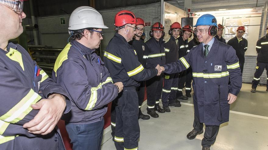 """Urkullu destaca la evolución positiva de la economía vasca y apuesta por ofrecer un """"ecosistema atractivo y competitivo"""""""