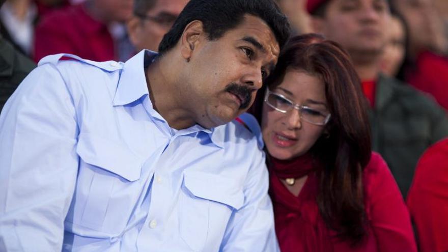 La esposa de Maduro no asistió a la Asamblea Nacional por varicela