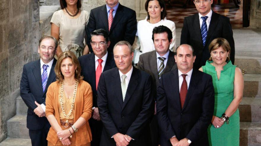 El Consell presidido por Alberto Fabra que compró la empresa Valmor en 2011.