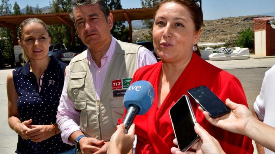 Estabilizado el incendio de Terque (Almería)