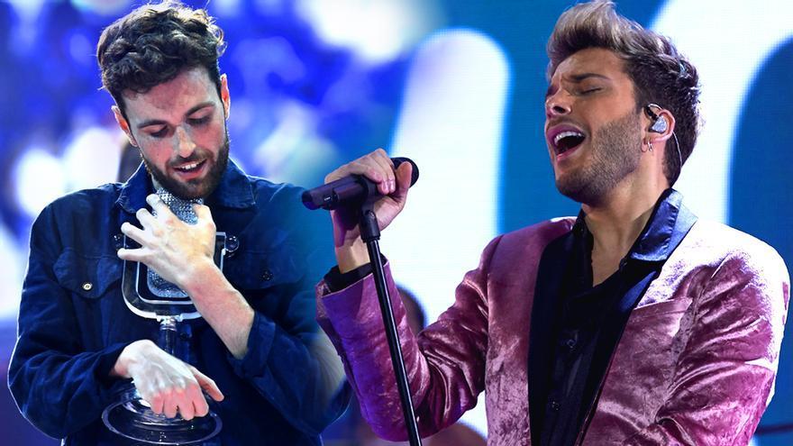 Duncan Laurence, ganador de Eurovisión 2019, se ofrece para componer la canción de Blas Cantó