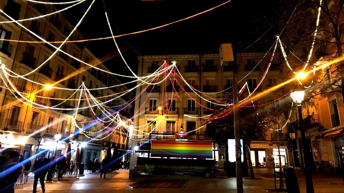 Luces de Navidad en la Plaza de Chueca | SOMOS CHUECA