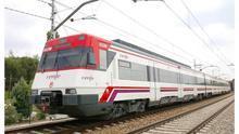 Uno de los trenes de cercanías que opera Renfe.