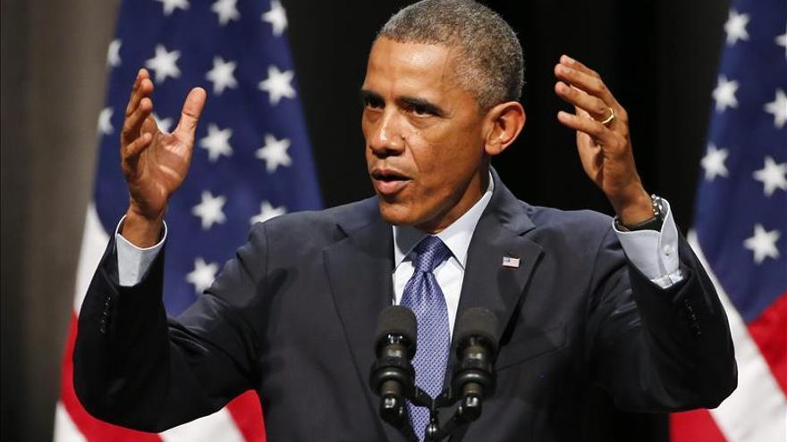 Obama pide calma ante el inminente fallo sobre la muerte de joven negro en Ferguson