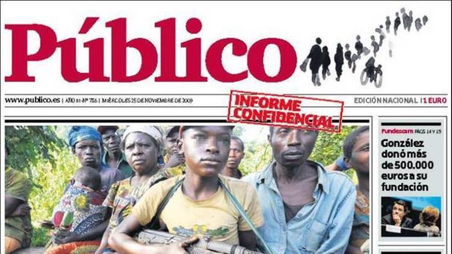 De las portadas del día (25/11/09) #11