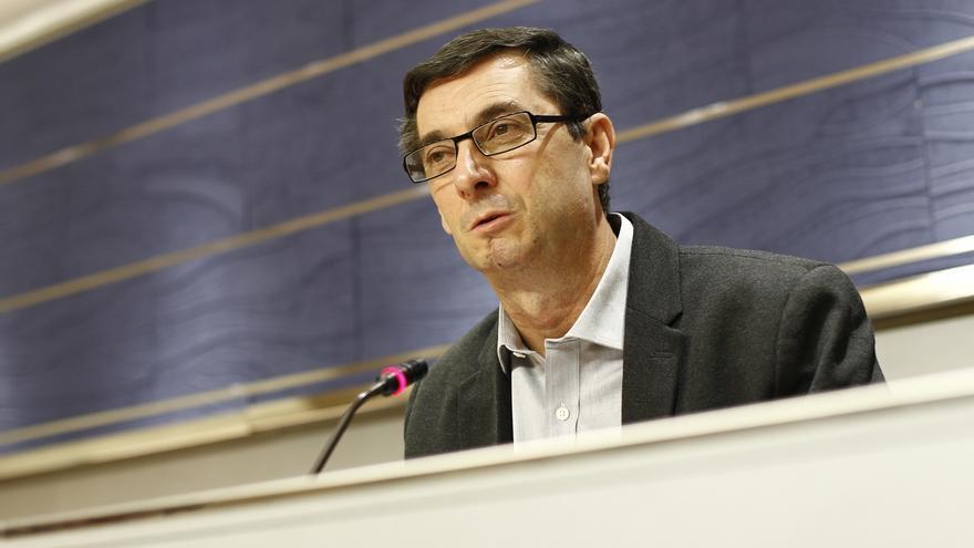"""IU acusa a Rajoy de hacer un discurso """"hipócrita"""" e """"hiriente"""" basado en una España """"irreal"""""""