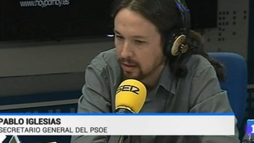 Pablo Iglesias PSOE - Telediario