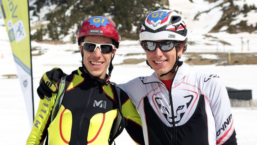 Los hermanos Cardona se proclaman vencedores de la primera Molina-Vallter Skimarathon (1)