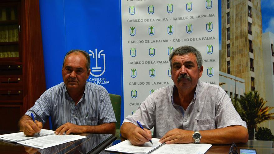 Firma del contrato para las obras de mejora de la red contra incendios forestales en la zona de Reventón-Izcagua