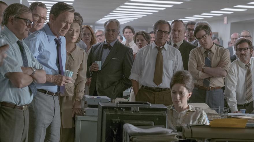 """Spielberg dimensiona el papel de 'The Washington Post' en la publicación de los denominados """"papeles del Pentágono"""""""""""