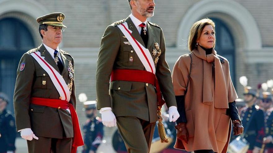 El Rey regresa a la Academia General Militar de Zaragoza en su 75 aniversario