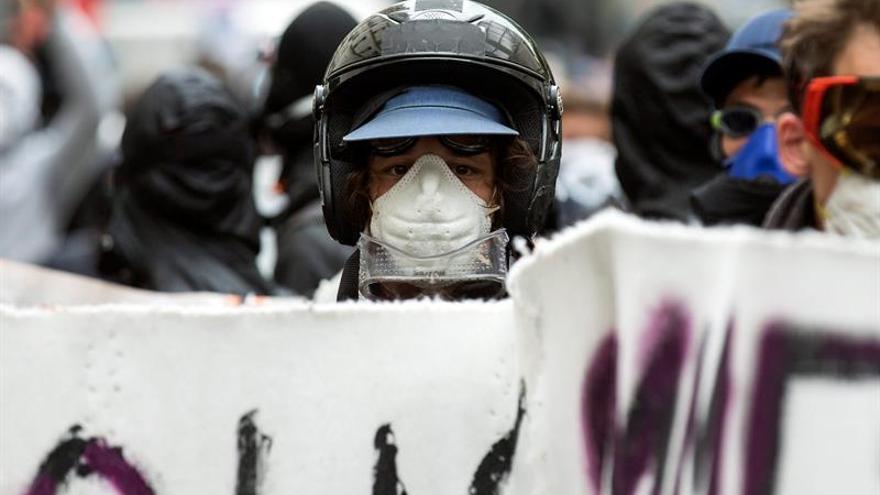 El tráfico aéreo en París afectado por la protesta contra la reforma laboral