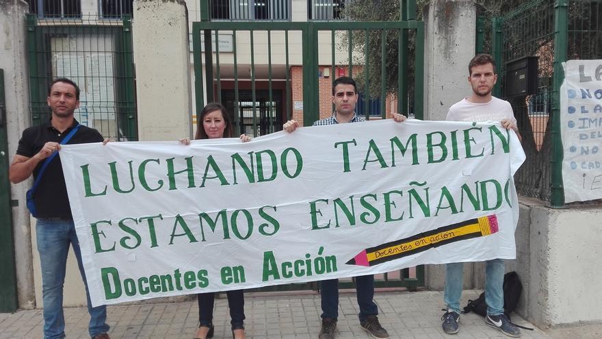 """Interinos docentes piden explicaciones a Gaya por el """"colapso"""" de especialidades y la no cobertura de bajas"""