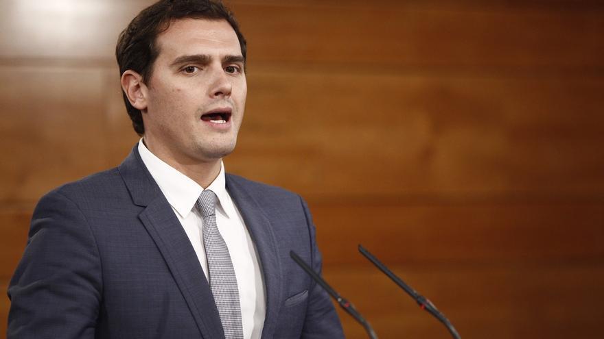 Rivera ha participado en un acto de campaña en Málaga