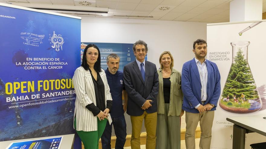La isla de Mouro acogerá el I Open de Fotografía Submarina Bahía de Santander, que donará beneficios a la AECC
