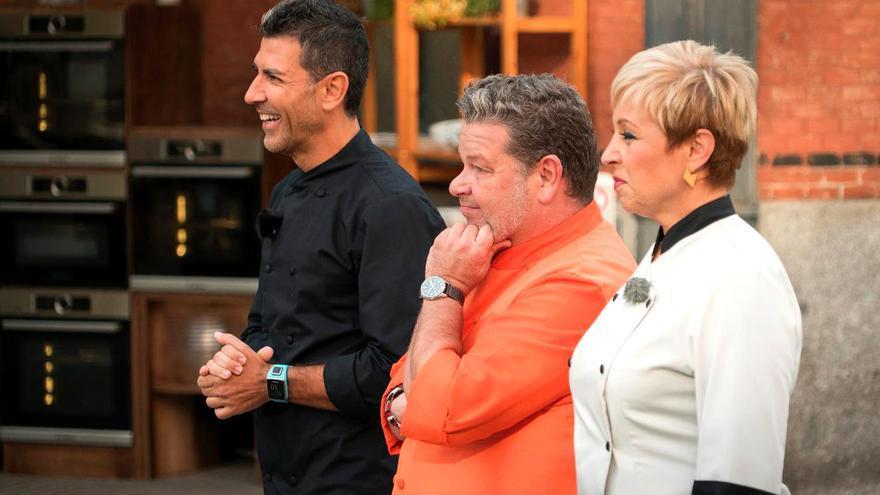 Paco Roncero, Alberto Chicote y Susi Díaz en Top Chef