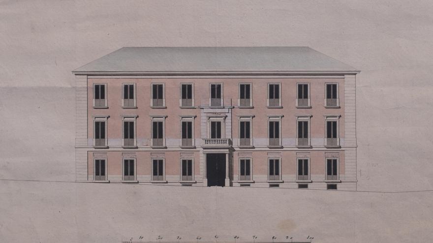 Fachada principal del Palacio de la duquesa de Villahermosa/ Museo Thyssen